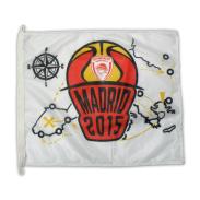 Γρήγορη προβολή Παντιέρα Παραλληλόγραμμη Olympiacos Bc Mεγάλη - Madrid 2015  Logo 20 cfcedb2b9b5